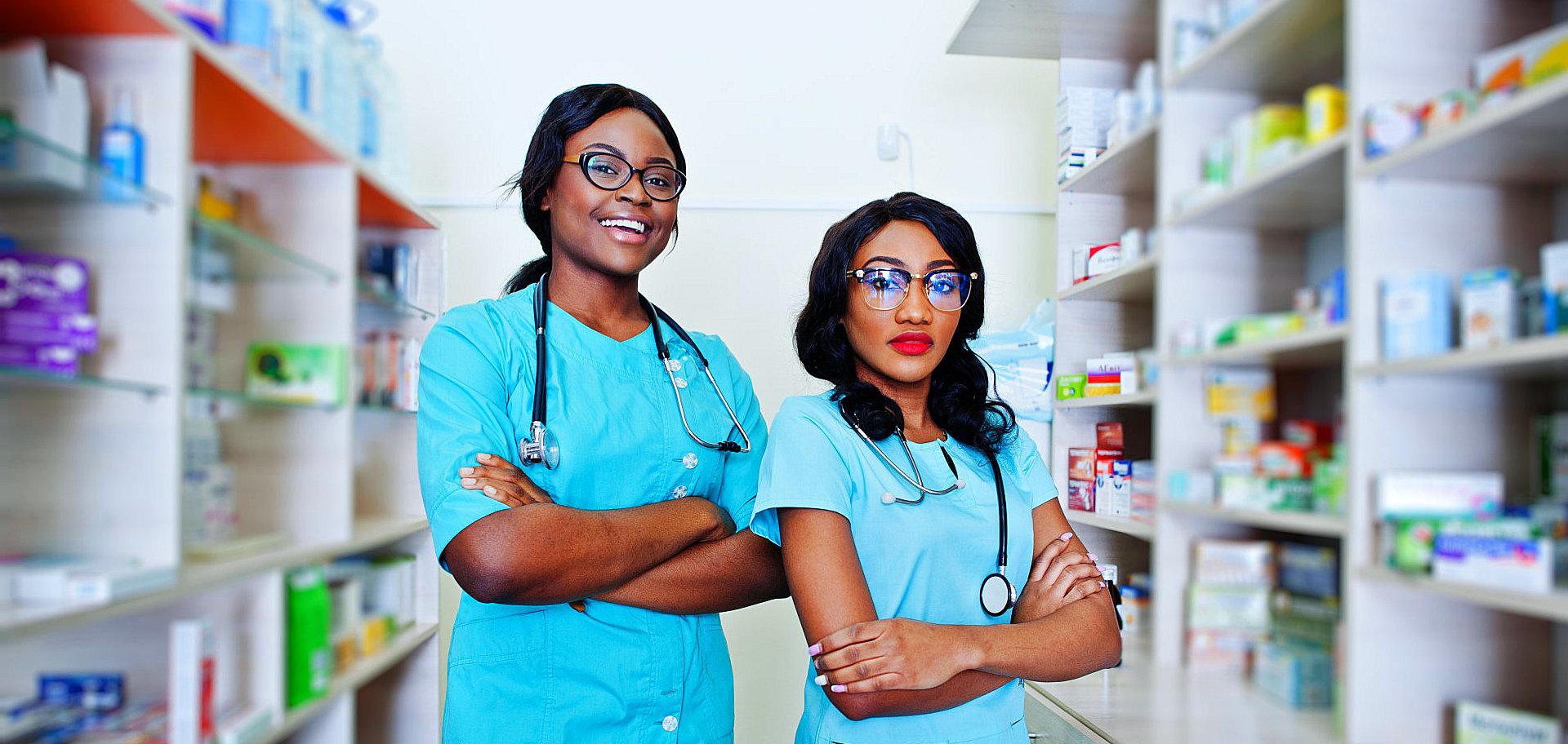 two pharmacists